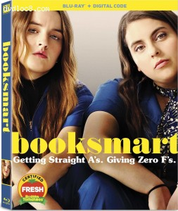 Cover Image for 'Booksmart [Blu-ray + Digital]'