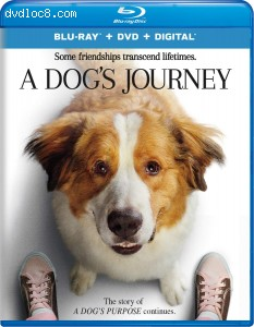 Dog's Journey, A [Blu-ray + DVD + Digital] Cover