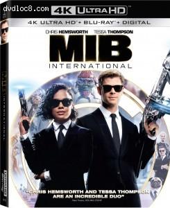 Cover Image for 'Men in Black: International [4K Ultra HD + Blu-ray + Digital]'