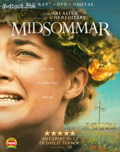 Cover Image for 'Midsommar [Blu-ray + DVD + Digital]'