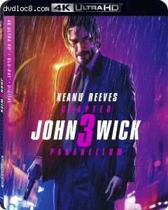Cover Image for 'John Wick: Chapter 3 Parabellum [4K Ultra HD + Blu-ray + Digital]'