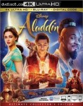 Cover Image for 'Aladdin [4K Ultra HD + Blu-ray + Digital]'