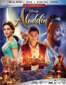 Cover Image for 'Aladdin [Blu-ray + DVD + Digital]'