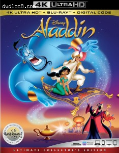 Cover Image for 'Aladdin: The Signature Collection [4K Ultra HD + Blu-ray + Digital]'
