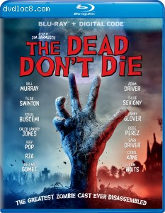 Cover Image for 'Dead Don't Die, The [Blu-ray + Digital]'