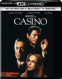 Cover Image for 'Casino [4K Ultra HD + Blu-ray + Digital]'