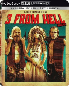 Cover Image for '3 from Hell [4K Ultra HD + Blu-ray + Digital]'
