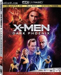 Cover Image for 'X-Men: Dark Phoenix [4K Ultra HD + Blu-ray + Digital]'
