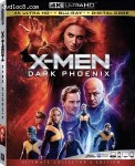 Cover Image for 'X-Men: Dark Phoenix [4K Ultra HD + Blu-ray + Digital]'