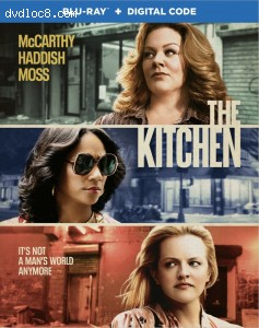 Cover Image for 'Kitchen, The [Blu-ray + Digital]'
