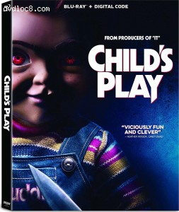 Cover Image for 'Child's Play [Blu-ray + Digital]'