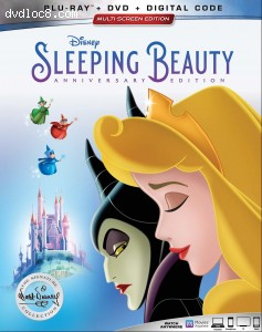 Cover Image for 'Sleeping Beauty: The Signature Collection [Blu-ray + DVD + Digital]'