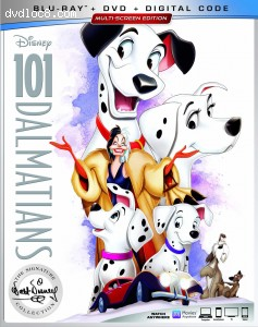 Cover Image for '101 Dalmatians: The Signature Collection [Blu-ray + DVD + Digital]'