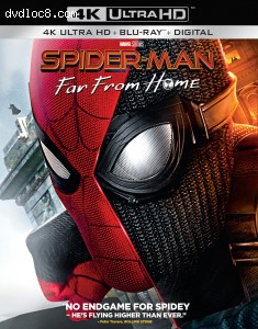 Cover Image for 'Spider-Man: Far from Home [4K Ultra HD + Blu-ray + Digital]'