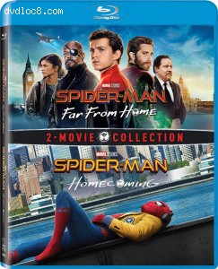Cover Image for 'Spider-Man: Far from Home / Spider-Man: Far from Home / Spider-Man: Homecoming 2-Movie Collection'