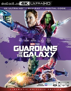Cover Image for 'Guardians Of The Galaxy [4K Ultra HD + Blu-ray + Digital]'