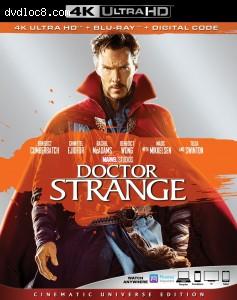 Cover Image for 'Doctor Strange [4K Ultra HD + Blu-ray + Digital]'