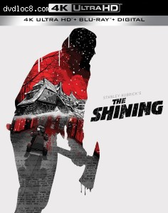 Cover Image for 'Shining, The [4K Ultra HD + Blu-ray + Digital]'