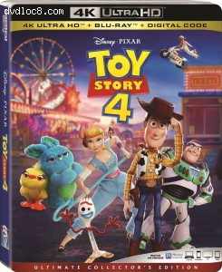 Cover Image for 'Toy Story 4 [4K Ultra HD + Blu-ray + Digital]'