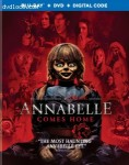 Cover Image for 'Annabelle Comes Home [Blu-ray + DVD + Digital]'