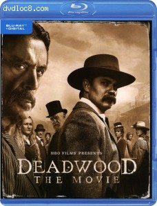 Deadwood: The Movie [Blu-ray + Digital] Cover