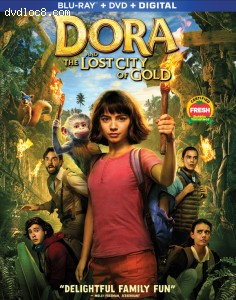 Cover Image for 'Dora and the Lost City of Gold [Blu-ray + DVD + Digital]'