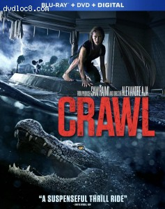 Cover Image for 'Crawl [Blu-ray + DVD + Digital]'