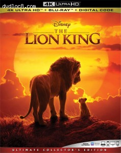 Cover Image for 'Lion King, The [4K Ultra HD + Blu-ray + Digital]'
