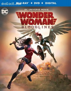 Cover Image for 'Wonder Woman: Bloodlines [Blu-ray + DVD + Digital]'