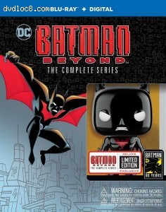 Cover Image for 'Batman Beyond: The Complete Series [Blu-ray + Digital]'