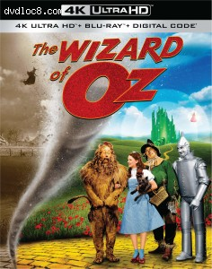 Cover Image for 'Wizard of Oz, The (80th Anniversary Edition) [4K Ultra HD + Blu-ray + Digital]'