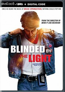 Blinded By The Light [DVD + Digital Code] Cover