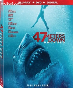 Cover Image for '47 Meters Down: Uncaged [Blu-ray + DVD + Digital]'
