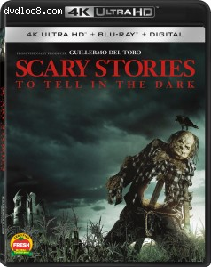 Cover Image for 'Scary Stories to Tell in the Dark [4K Ultra HD + Blu-ray + Digital]'