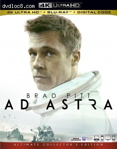 Cover Image for 'Ad Astra [4K Ultra HD + Blu-ray + Digital]'