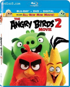 Cover Image for 'Angry Birds Movie 2, The [Blu-ray + DVD + Digital]'