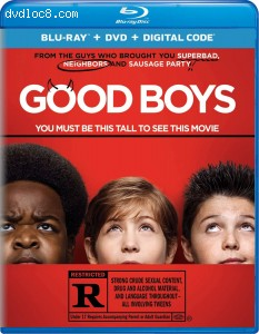 Cover Image for 'Good Boys [Blu-ray + DVD + Digital]'