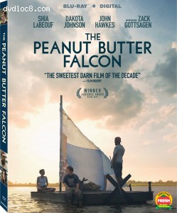 Cover Image for 'Peanut Butter Falcon, The [Blu-ray + Digital]'