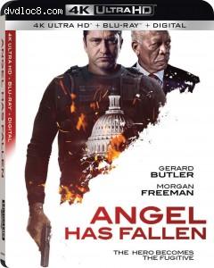Cover Image for 'Angel Has Fallen [4K Ultra HD + Blu-ray + Digital]'
