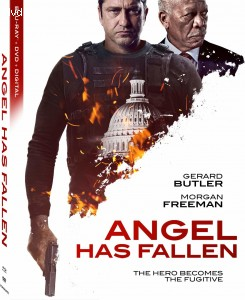 Cover Image for 'Angel Has Fallen [Blu-ray + DVD + Digital]'