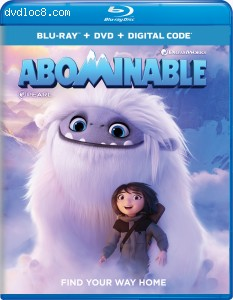 Cover Image for 'Abominable [Blu-ray + DVD + Digital]'