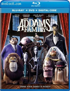 Cover Image for 'Addams Family, The [Blu-ray + DVD + Digital]'