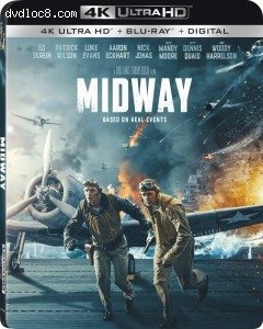 Cover Image for 'Midway [4K Ultra HD + Blu-ray + Digital]'