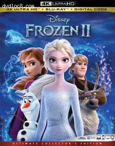 Cover Image for 'Frozen II [4K Ultra HD + Blu-ray + Digital]'