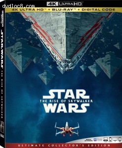 Cover Image for 'Star Wars: The Rise of Skywalker [4K Ultra HD + Blu-ray + Digital]'