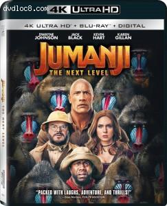 Cover Image for 'Jumanji: The Next Level (IMAX Enhanced) [4K Ultra HD + Blu-ray + Digital]'