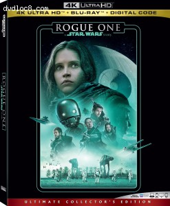 Cover Image for 'Rogue One: A Star Wars Story [4K Ultra HD + Blu-ray + Digital]'