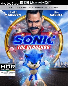 Cover Image for 'Sonic the Hedgehog [4K Ultra HD + Blu-ray + Digital]'