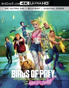 Cover Image for 'Birds of Prey and The Fantabulous Emancipation of one Harley Quinn [4K Ultra HD + Blu-ray + Digital]'