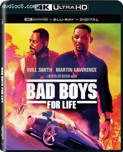 Cover Image for 'Bad Boys for Life (IMAX Enhanced) [4K Ultra HD + Blu-ray + Digital]'